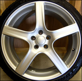 "Golf GTI 18"" refinished Rim in Water Based Paint"